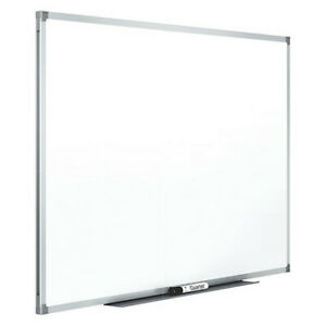 Melamine Whiteboard 48 X 96 wall Mounted Mead 85359n
