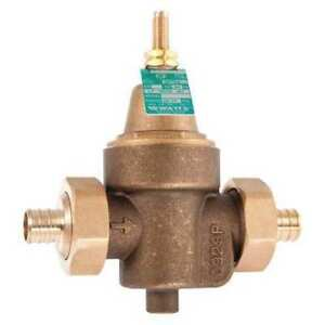 Water Pressure Reducing Valve 4 1 4 In l Watts Regulator 1 2 Lfn55bm1 du pex