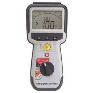 Battery Operated Megohmmeter 1000vdc Megger Mit420 2