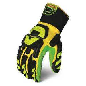 Impact Gloves l yellow green black pr Ironclad Indi had 04 l