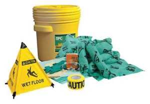 Spill Kit Chem hazmat Yellow Brady Spc Absorbents Skh 20 rescue