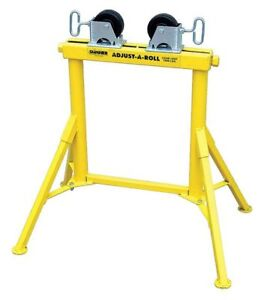 Roller Head Pipe Stand 1 2 To 36 In Sumner 780367