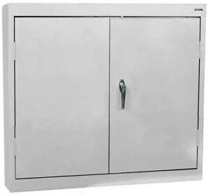 Wall Mount Storage Cabinet dove Gray