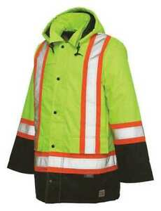 Work King S17611 High Visibility Jacket l yellow green