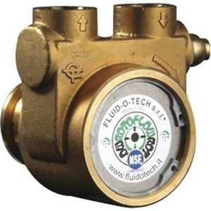 Rotary Vane Pump low Lead Brass 4 Gpm Fluid o tech Pb0801andnn0000