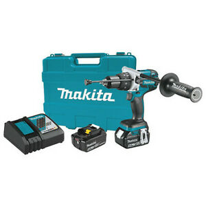 Makita Xph07tb 18v Lxt Brushless 1 2 Hammer Driver drill Kit
