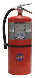 Buckeye 12650 Fire Extinguisher 60b c Dry Chemical 20 Lb 7 5 dia
