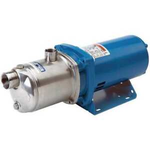 Centrifugal Pump 2 Hp 208 230 460v Goulds Water Technology 5hm05n15t6pbqe