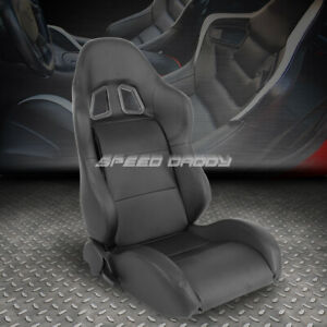 Pvc Leather Black Reclinable Type xl06 Sports Style Racing Seat Passenger Side