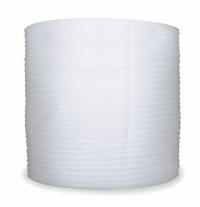 0760 2500336 Foam Roll White 24 In W 1500 Ft L