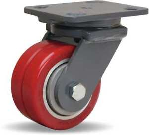 Plate Caster swivel poly 4 In 700 Lb Hamilton S wh 4swf