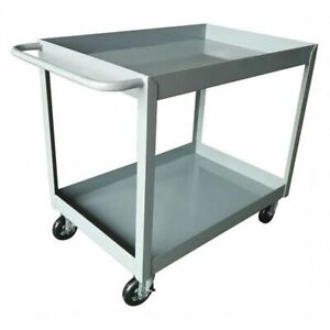 Utility Cart steel 42 Lx24 3 8 W 1200 Lb Zoro Select 2gmh6