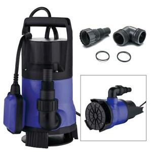 15hp Clear Dirty Water Submersible Plastic Pump Swimming Pool Pond Flood Drain