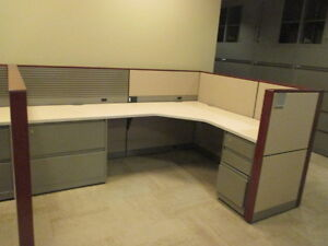 Used Office Cubicles Steelcase Montage Cubicles 7 5x5 5