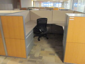 Used Office Cubicles Haworth Compose Cubicles 7 5x7