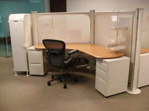 Used Office Cubicles Herman Miller Resolve Cubicles 5x5