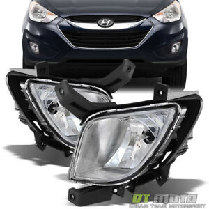 For 2010 2015 Tucson Fog Lights Bumper Driving Lamps W switch 10 15 Left right