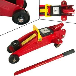 2 Ton Low Profile Hydraulic Floor Jack Work Shop Stand Tool Portable