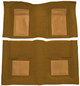 1969 Ford Mustang Mach I With 4 Medium Saddle Inserts Nylon Replacement Carpet