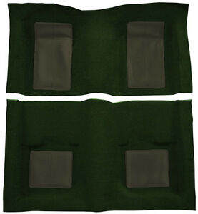1969 Ford Mustang Mach I With 4 Green Inserts Nylon Replacement Carpet Kit