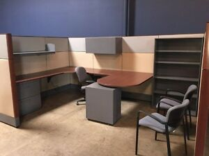 Used Office Cubicles Haworth Premise Cubicles 8x12