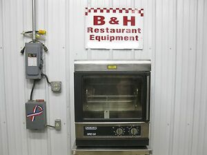 Hobart Hro 50 Counter Top Electric Chicken Rotisserie Rotary Oven Display Case