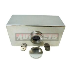 Fabricate Aluminum Square Coolant Water Overflow Expansion catch Tank Reservoir
