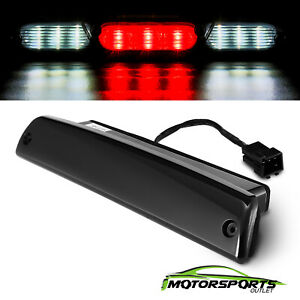For 1994 2001 Dodge Ram 1500 2500 3500 Black Led Third 3rd Brake Light Lamp