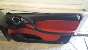 04 06 Gto Black And Red Door Interior Panel Passenger Side Right