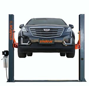 Stratus 2 Post Base Plate 10000 Lbs Manual Release Car Lift Auto Hoist Sae B10