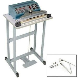 Profession 12 Foot Pedal Impulse Sealer Heat Seal Machine Plastic Bag Sealing