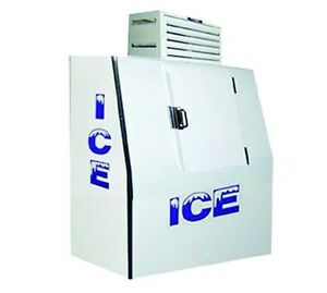 Fogel Icb 1 Slant Ice Merchandiser Bagged Ice 40 Cu Ft Capacity