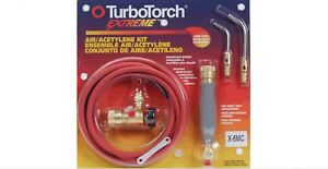 Turbotorch X 6mc Extreme Air acetylene Torch Kit 0386 0339