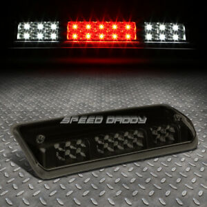 For 04 08 Ford F150 Dual Rows Led Third 3rd Tail Brake Light Cargo Lamp Tinted