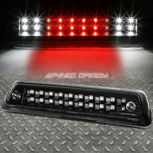 For 09 14 Ford F150 2 Row Led Third 3rd Tail Brake Light W Cargo Lamp Bar Black