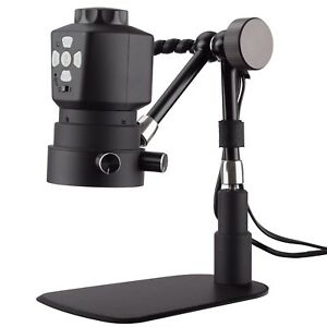 Amscope Tabletop Digital Microscope 11in Articulating Arm