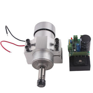 300w Cnc Spindle Motor Kits Pwm Speed Controller With Mount Bracket
