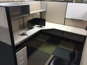 Used Office Cubicles Herman Miller Ao2 Cubicles 7x8