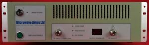 Microwave Amps Am82 001 Gan Linac Power Amplifier 2 85 Ghz To 3 Ghz