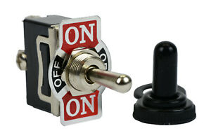 20a 125v Toggle Switch On off on Spdt 3 Terminal Momentary 1 Side boot