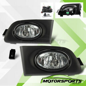 For 2001 2002 2003 Honda Civic 2dr 4dr Coupe Sedan Fog Lights W Switch Wiring