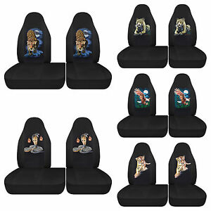 1997 2003 Ford F150 Car Seat Covers F150 Bucket 40 60 Choose Your Print