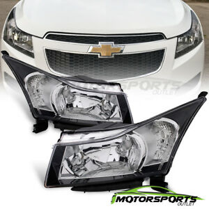 2010 2011 2012 2013 2014 2015 2016 Chevrolet Cruze Factory Style Blk Headlights
