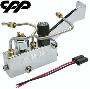 Hot Rod Proportioning Valve Adjustable Lines Chrome