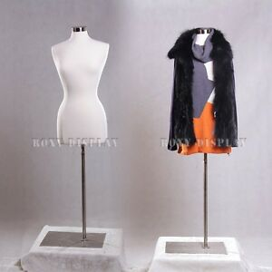 Female Size 6 8 Jersey Cover Body Form Mannequin Manikin Dress Form f6 8w bs 05