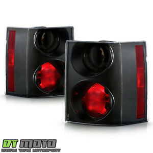 Pair 2 2006 2009 Land Rover Range Rover Hse Red Smoke Led Tail Lights Lamps