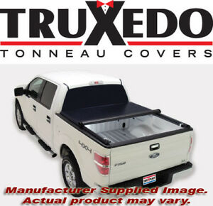 Truxedo 298301 Truxport Soft Roll Up Tonneau Cover 2015 2020 Ford F 150 6 5 Bed