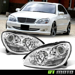 Replacement 2000 2006 Mercedes Benz W220 S class S430 S500 Projector Headlights