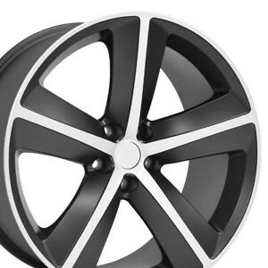 Oew 20 Rims Fit Dodge Challenger Charger Chrysler 300 Srt Black Mach D 2357