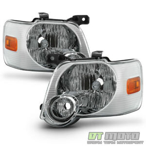 2006 2010 Ford Explorer Headlights Headlamps Replacement Light Lamp Left Right